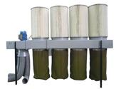 Пылеуловители для очистки от мелкодисперстной пыли