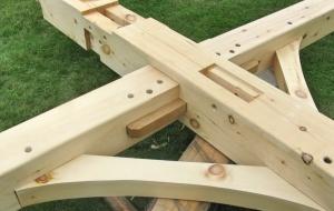 Домостроение по-японски - сложнейшие соединения деревянных конструкций