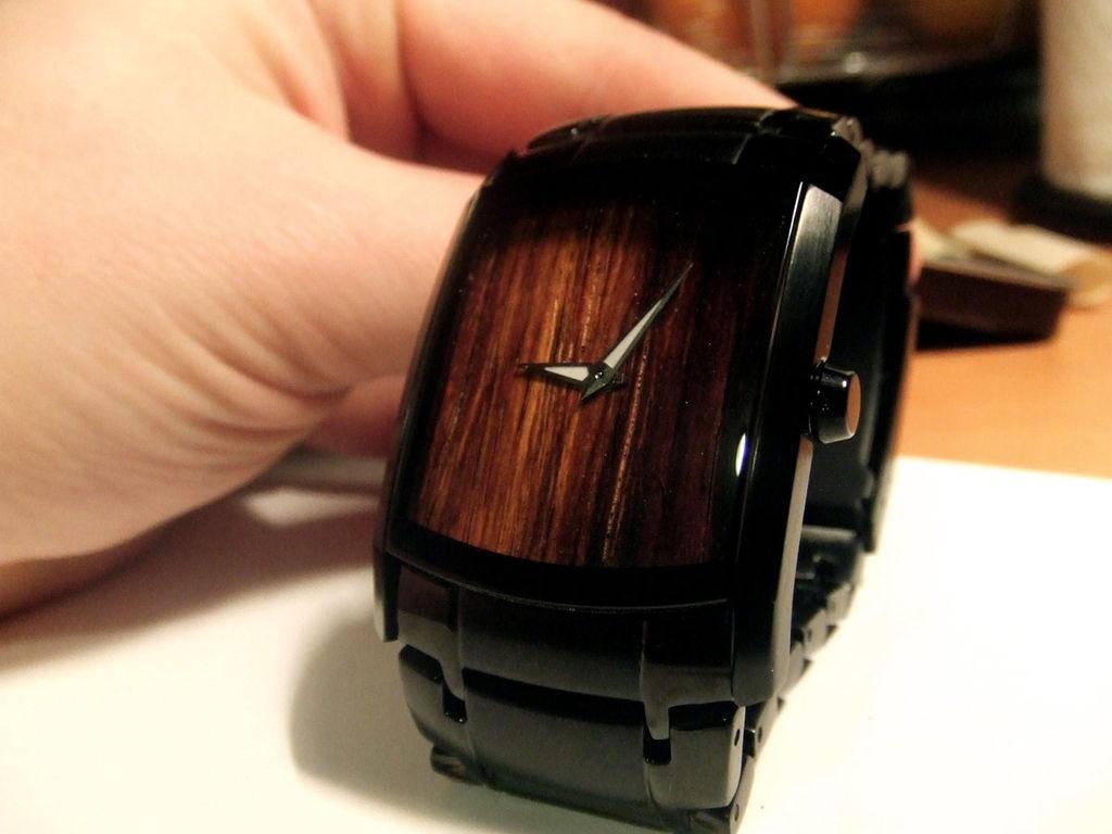 Часы из дерева своими руками наручные часы 3