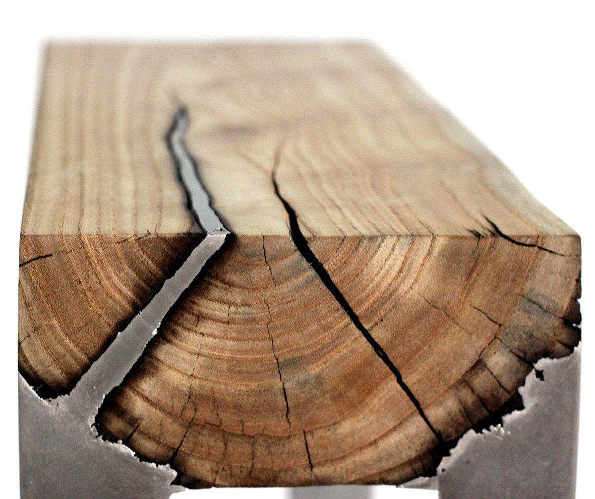 Дерево под металл своими руками 41