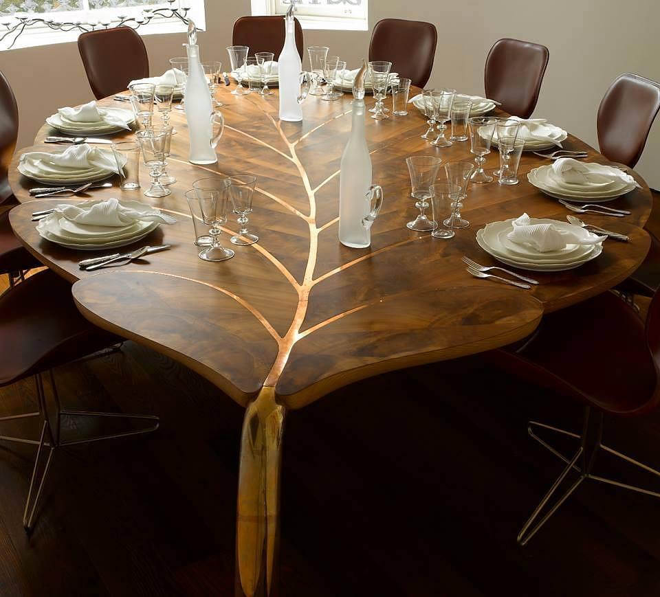 Журнальный столик из дерева необычной формы своими руками фото