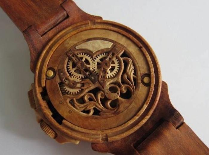 Часы из дерева своими руками наручные часы 27