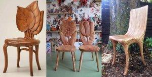 10 удивительных деревянных стульев - Идеи для творчества