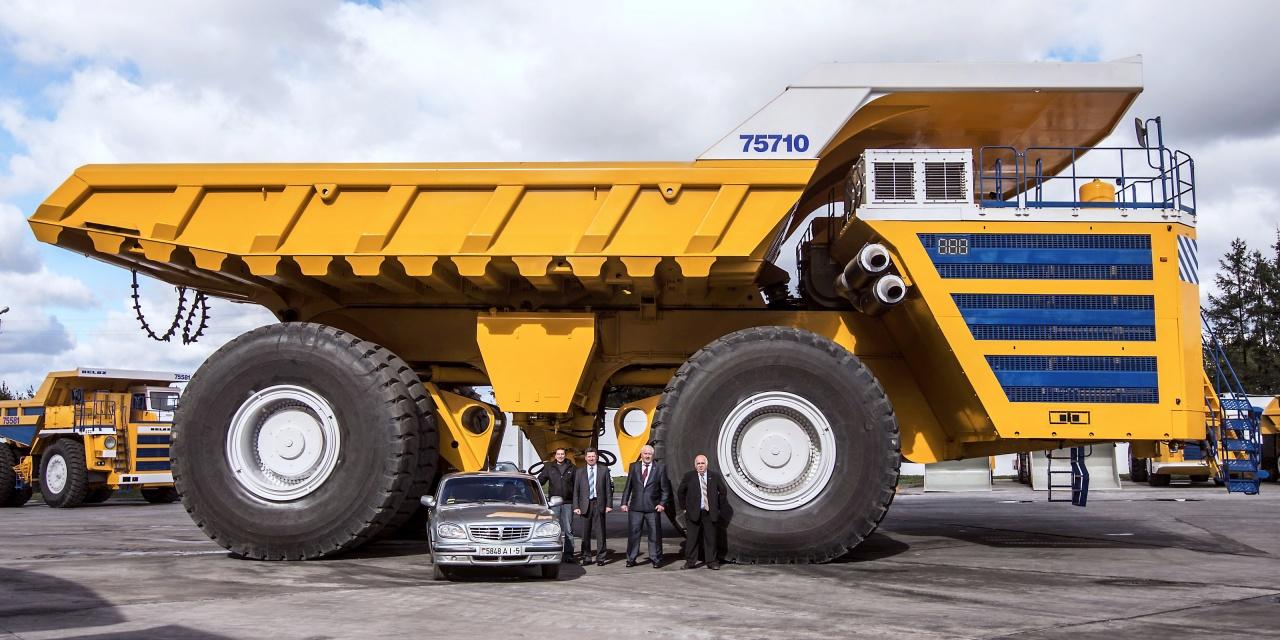 Самые большие карьерные машины