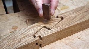 Как соединить деревянные балки в «японский замок»