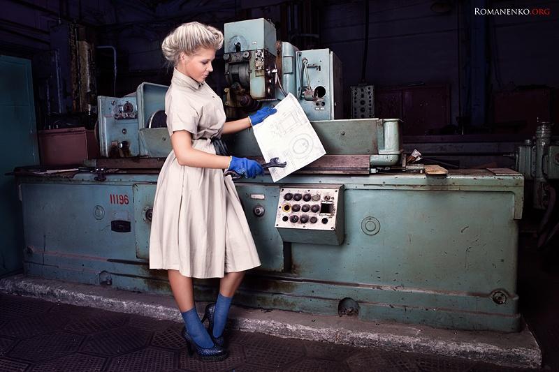 фото голых женщин на заводе