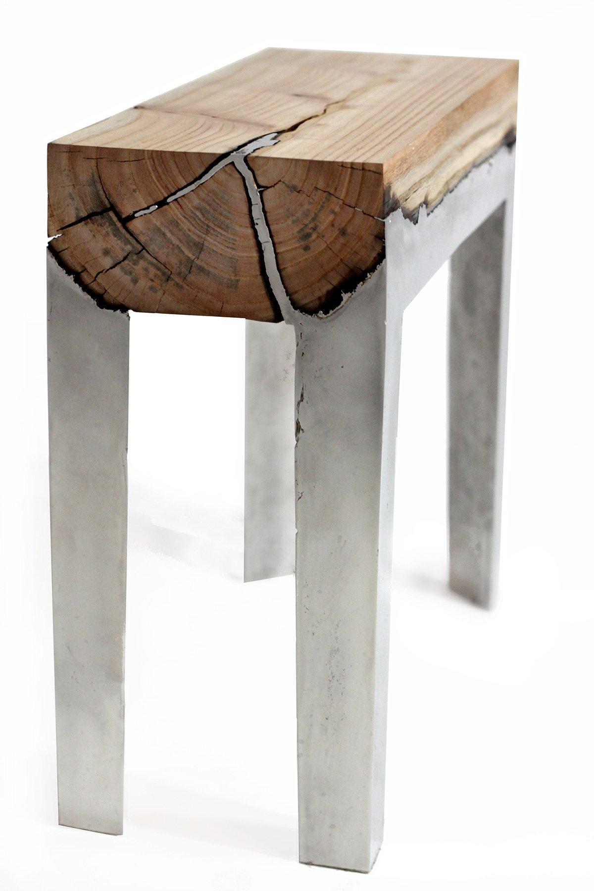 Дерево под металл своими руками 95