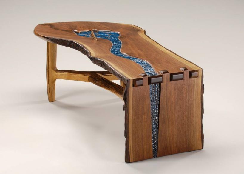 10 крутых деревянных столов