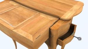 Секретные механизмы этого стола работают спустя 200 лет