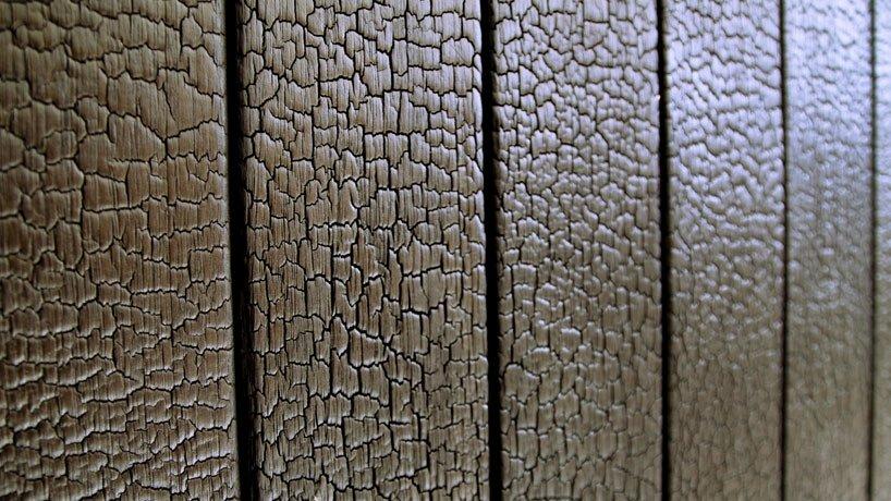 Отделка древесины по-японски: Shou Sugi Ban Созидающий огонь