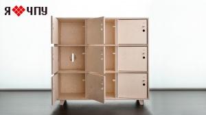 Сделай сам: Шкаф с индивидуальными ячейками + DXF