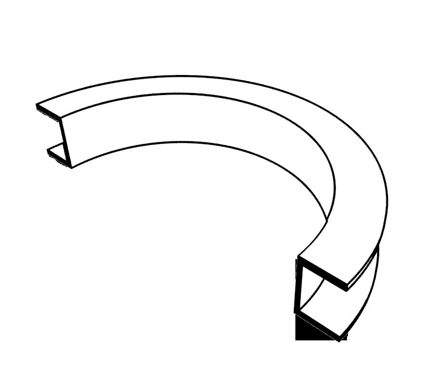 Швеллер.                Допустимые размеры для гиба на трубогибе HTB70-80.                BlackSmith