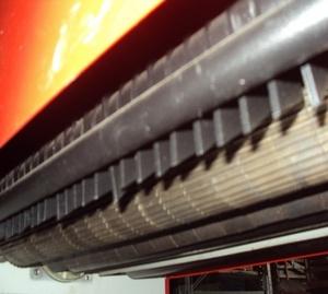 Рейсмусовый станок СР6-20М1, подающий рифленый валец