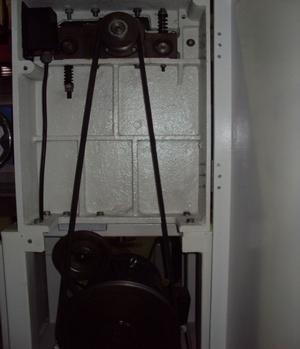 Рейсмусовый станок СР6-20М1, привод ножевого вала