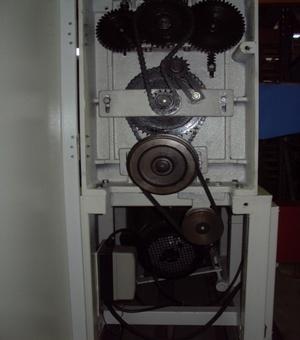 Рейсмусовый станок СР6-20М1, привод роликов подачи