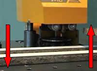 Автоматическая настройка фрезерного узла по высоте
