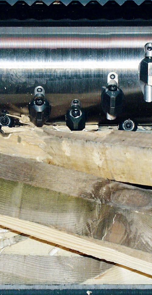 шредер для измельчения древесных отходов lr630