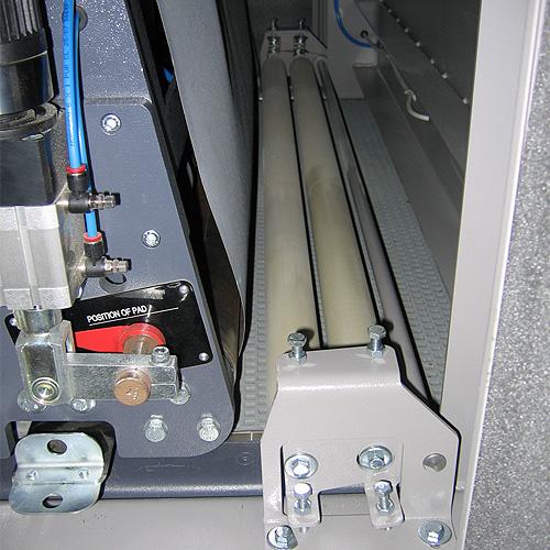 Шлифовальный станок BULDOG 7, сдвоенные ролики.