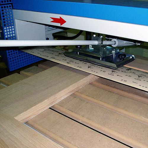 Ленточно-шлифовальный станок ECO, рамные конструкции.