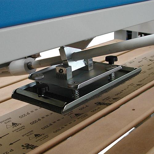 Ленточно-шлифовальный станок ECO, утюжок.