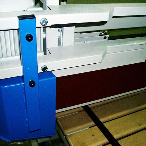 Ленточно-шлифовальный станок ECO, шлифование кромок.