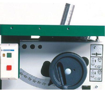 Комбинированный пятиоперационный фрезерно-круглопильно-фуговально-рейсмусовый станок KPSN-400A