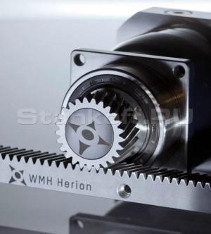 Косозубые передачи шестерня – рейка по осям X –Y «WMH-Herion» (Германия)