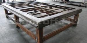 Цельносварная массивная стальная станина