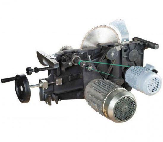 Комбинированный круглопильно-фрезерный станок KPFN-300A