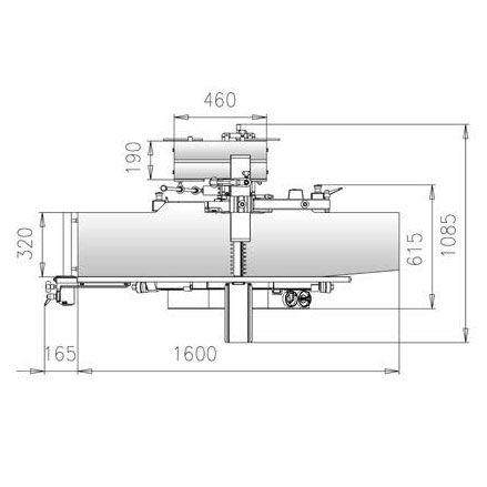 Комбинированный фуговально-рейсмусовый станок MSP-315