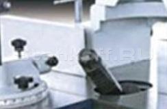 Наклон шпинделя 0-45°