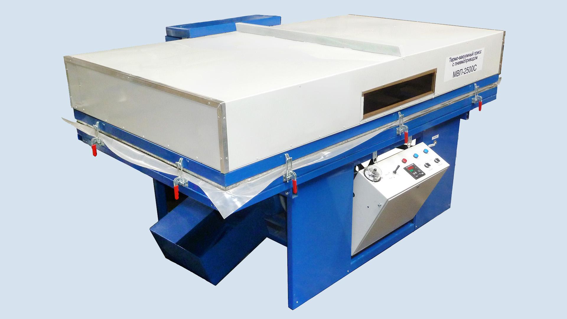 Термо-вакуумный пресс ТВП-2500С