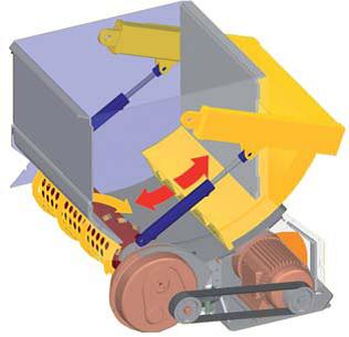 шредер для измельчения древесных отходов lr700