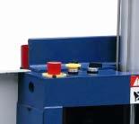 Станок шипорезный односторонний с клеенамазкой Beaver-16AG, управление работой станка в автоматическом режиме
