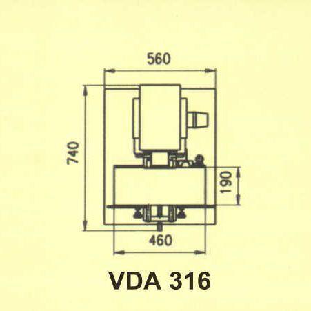Сверлильно-пазовальный станок VDA-316