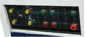Станок шипорезный односторонний с узлом клеенанесения Beaver-16/AP, пульт управления станком