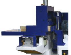 Станок шипорезный односторонний с узлом клеенанесения Beaver-16/AP, мощный рабочий стол