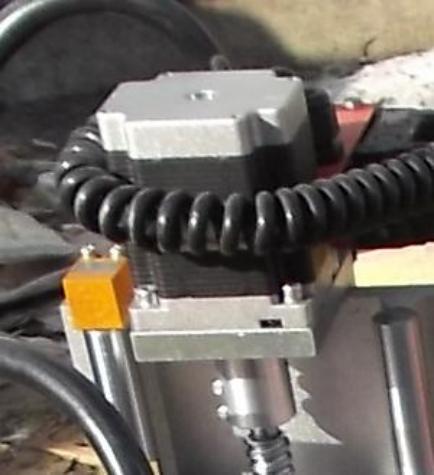 Шаговый двигатель фрезерного станка с ЧПУ Beaver 1212AT3