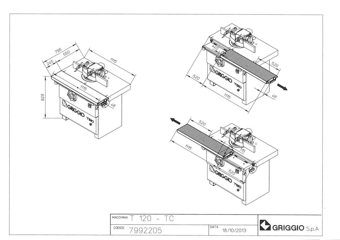 чертеж T 120 TC