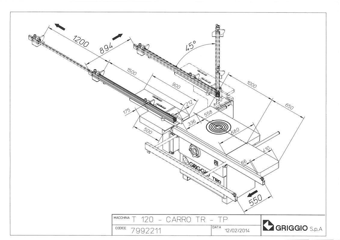 чертеж T 120 TPL
