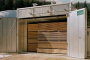 Ворота для загрузки древесины
