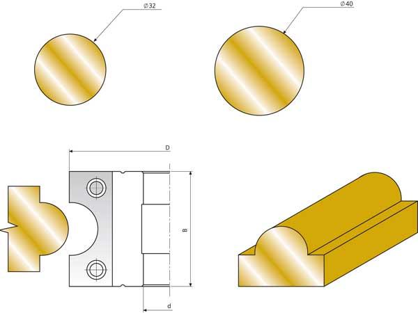 СП-01 фреза для изготовления штапов