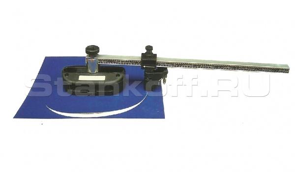 Приспособление для вырезания овальных паспарту РП-02