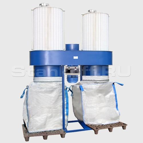 Агрегат пылеулавливающий для шлифовальных станков ПФЦ-8000КР-4