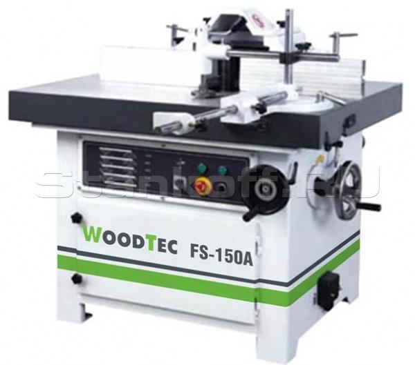 Станок фрезерный с наклоняемым шпинделем WoodTec FS150A