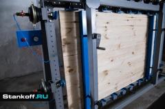 Вайма для сборки оконных блоков и дверей и склеивания щитов ВП16-2400Б-2 (двухсторонняя)
