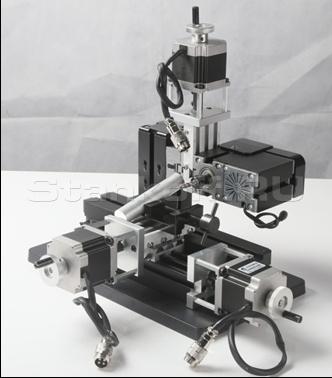 Горизонтально-расточной мини станок с ЧПУ MMR-CNC
