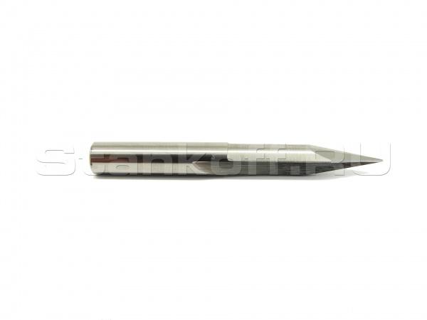 Конический гравер двухзаходной (палисандр и лиственные породы дерева) A2ZJ4.250320