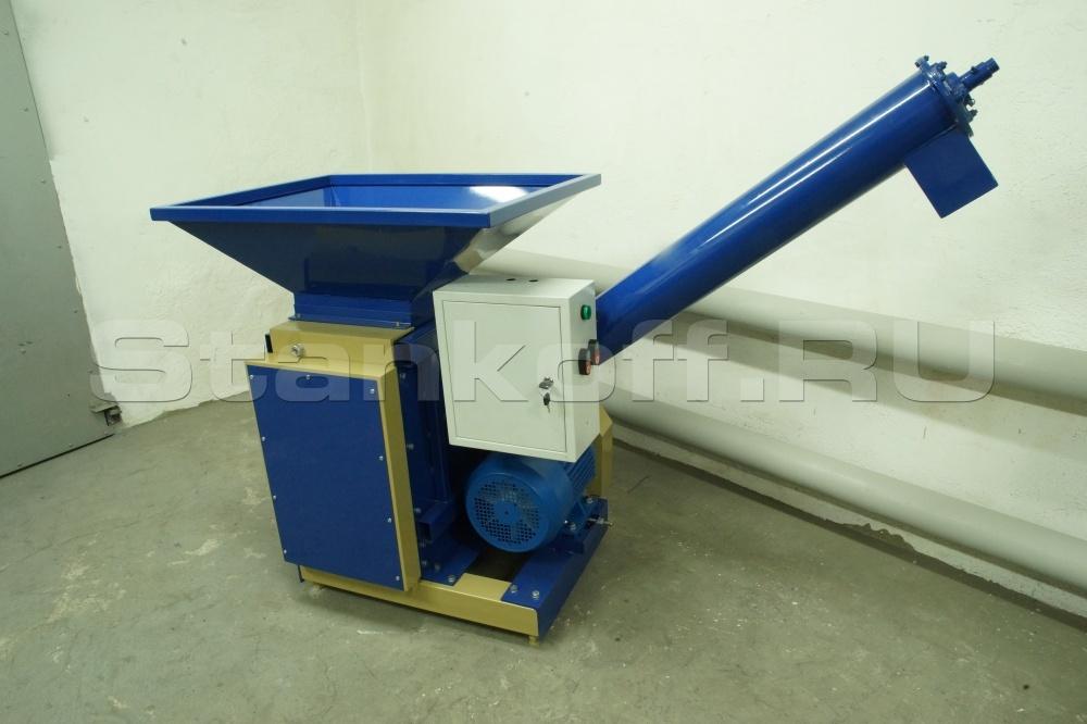 Дробилка вальцовая для зерна