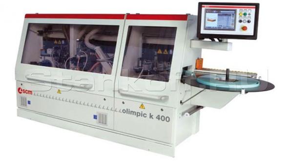 Автоматический кромкооблицовочный станок OLIMPIC K 400